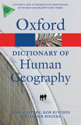 A Dictionary Of Human Geography Book PDF