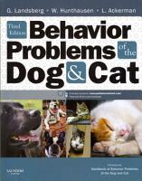 Behavior Problems of the Dog and Cat3 PDF