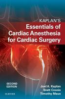 Kaplan   s Essentials of Cardiac Anesthesia E Book PDF
