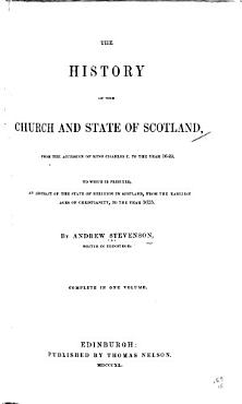 The History of the Church and State of Scotland PDF