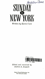 Sunday in New York '92-'93