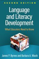 Language and Literacy Development  Second Edition PDF
