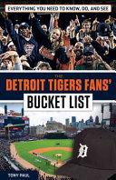The Detroit Tigers Fans  Bucket List PDF