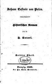 Johann Casimir von Polen: historischer Roman, Band 3