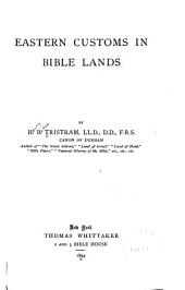 Eastern Customs in Bible Lands