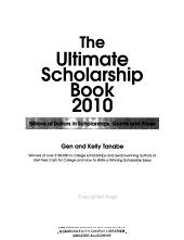 The Ultimate Scholarship Book 2010 PDF