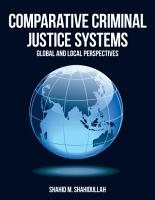 Comparative Criminal Justice Systems PDF