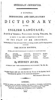 A General Pronouncing and Explanatory Dictionary of the English Language PDF