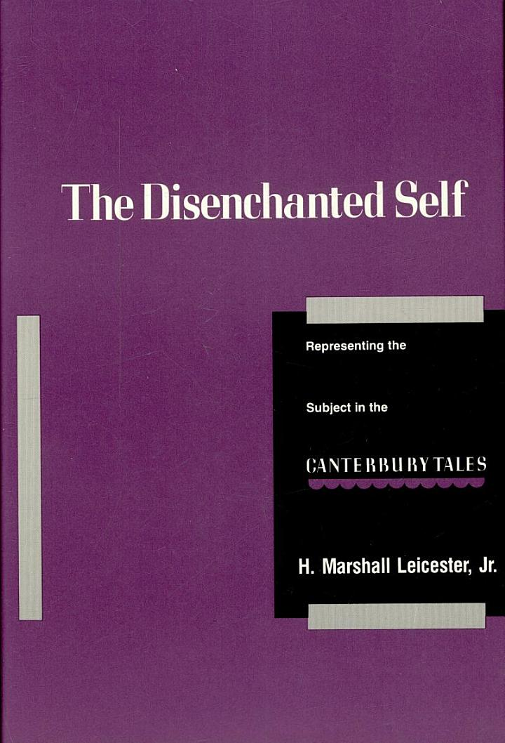 The Disenchanted Self
