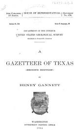 A Gazetteer of Texas