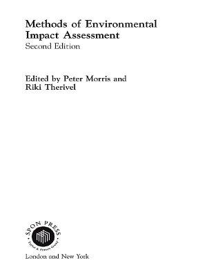 Methods of Environmental Impact Assessment PDF