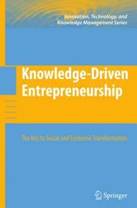 Knowledge Driven Entrepreneurship PDF