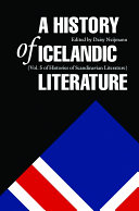 A History of Icelandic Literature