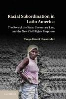Racial Subordination in Latin America PDF