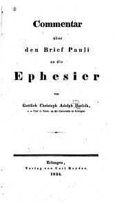 Commentar über den Brief Pauli an die Ephesier