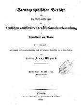 Stenographischer Bericht uber die Verhandlungen der Deutschen constituirenden Nationalversammlung zu Frankfurt am Main PDF