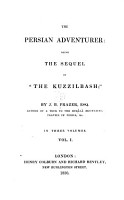 The Persian Adventurer PDF