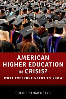 American Higher Education in Crisis  Book