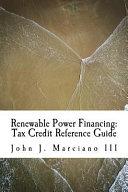 Renewable Power Financing