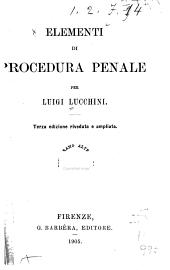Elementi di procedura penale