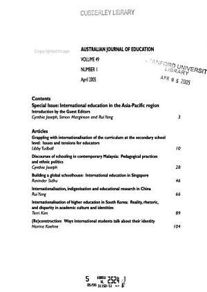 The Australian Journal of Education PDF