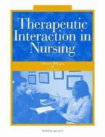 Therapeutic Interaction in Nursing PDF