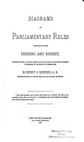 Diagrams of Parliamentary Rules According to Both Cushing and Robert     PDF
