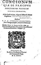 Conciones de tempore et Sanctis: Volume 5