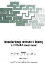 Item Banking: Interactive Testing and Self-Assessment