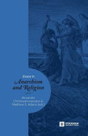Essays in Anarchism and Religion PDF