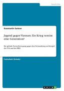 Jugend gegen Vietnam  Ein Krieg vereint eine Generation  PDF
