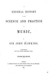 A General History of the Science and Practice of Music: Volume 2