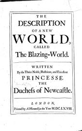 Observations Upon Experimental Philosophy: To which is Added, the Description of a New Blazing World