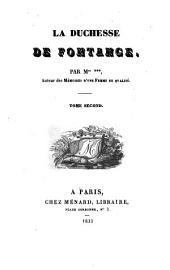 La duchesse de Fontange: Volume2