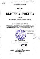Elementos de literatura ó Tratado de retórica y poética: para uso de los institutos y colegios de segunda enseñanza