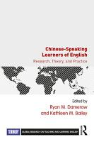Chinese Speaking Learners of English PDF