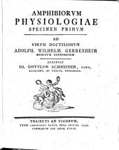 Amphibiorum Physiologia