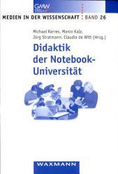 Didaktik der Notebook Universit  t PDF