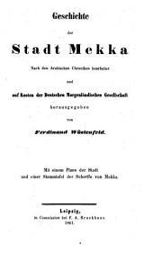 Die Chroniken der Stadt Mekka: Band 4