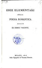 Idee elementari sulla poesia romantica