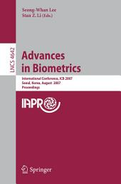 Advances in Biometrics: International Conference, ICB 2007, Seoul, Korea, August 27-29, 2007, Proceedings