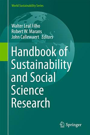 Handbook of Sustainability and Social Science Research PDF