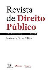 Revista de Direito Público - Ano VI, N.o 14 - Julho/Dezembro de 2015