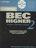 Cambridge BEC Higher 2 Self Study Pack PDF