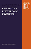 Law on the Electronic Frontier PDF