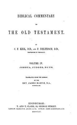 Joshua  Judges  Ruth  tr  by J  Martin