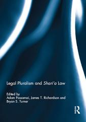 Legal Pluralism and Shari'a Law