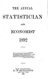The Annual Statistician and Economist: Volume 16