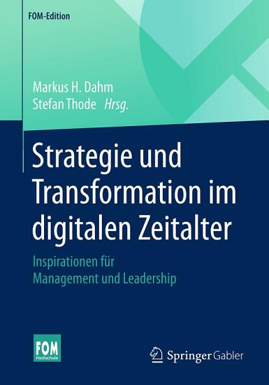 Strategie und Transformation im digitalen Zeitalter PDF