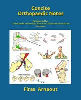 Concise Orthopaedic Notes PDF
